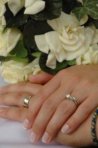 Adams Wedding Hands