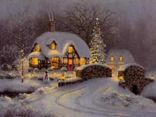 thomas kinkade christmas 2