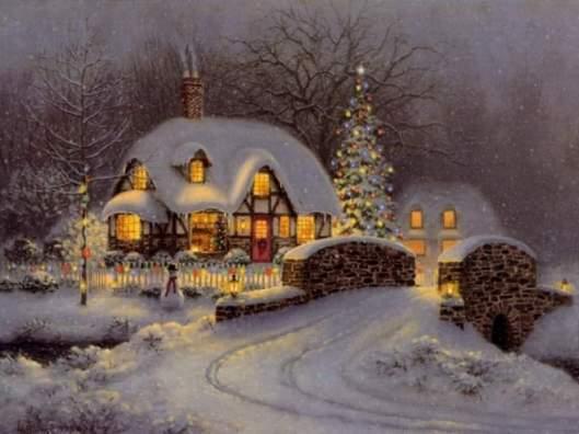 thomas kinkade christmas 2