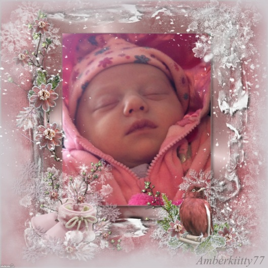 Sweet Winter Baby - 2H3X6-106 - print