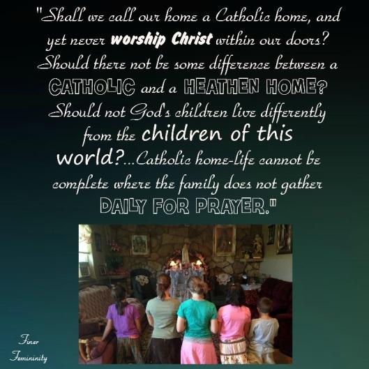 catholic home