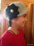 Hannah's hat.
