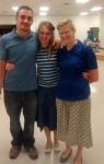 Dominic, Regina, Sarah