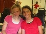 Miranda and Hannah