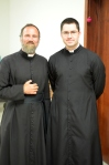 Father VanderPutten and Father Curtis