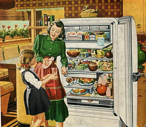 full-fridge-vintage-clipart