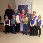 Father VanderPutten was visiting from Nigeria!