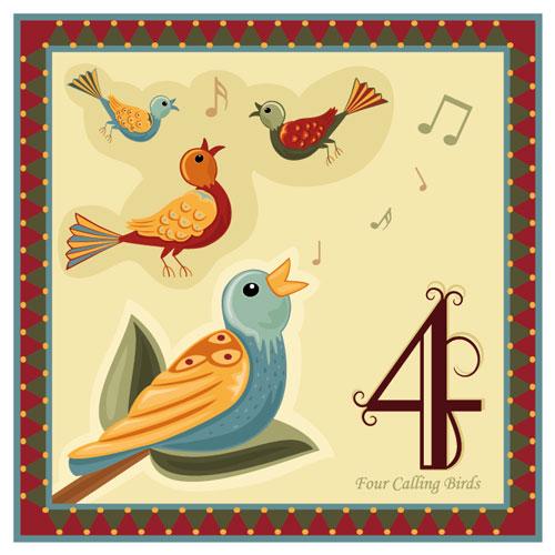 four-calling-birds_shutterstock_637589891