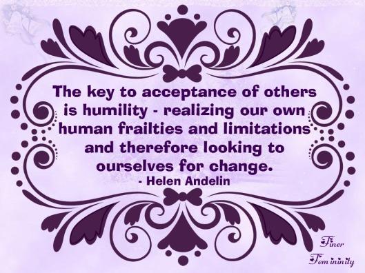 purple humility