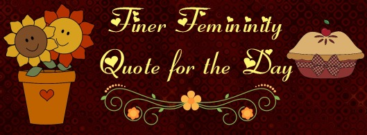 fall finer fem quote for the day fall