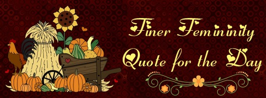 finer fem quote for the day fall2