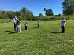 Sunday croquet