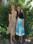 Margy made this dress (on the left).