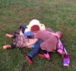 There are times when ladies must succumb to the lures of.....Dog Pile!!