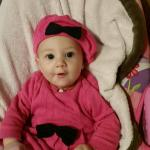 And then there is Juliette in her pink and black....