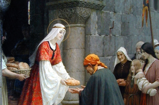 charity-of-st-elizabeth-of-hungary-edmund-blair-leighton-detail-featured-w740x493