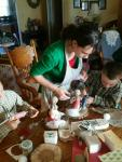 Virginia and her gang make home-made Christmas gifts for the kids' cousins!