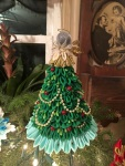 Look at the work that went into this Tree Topper! Beautiful!