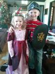 Jacob and Gracie's Christmas gifts....