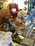 Having fun with Legos!