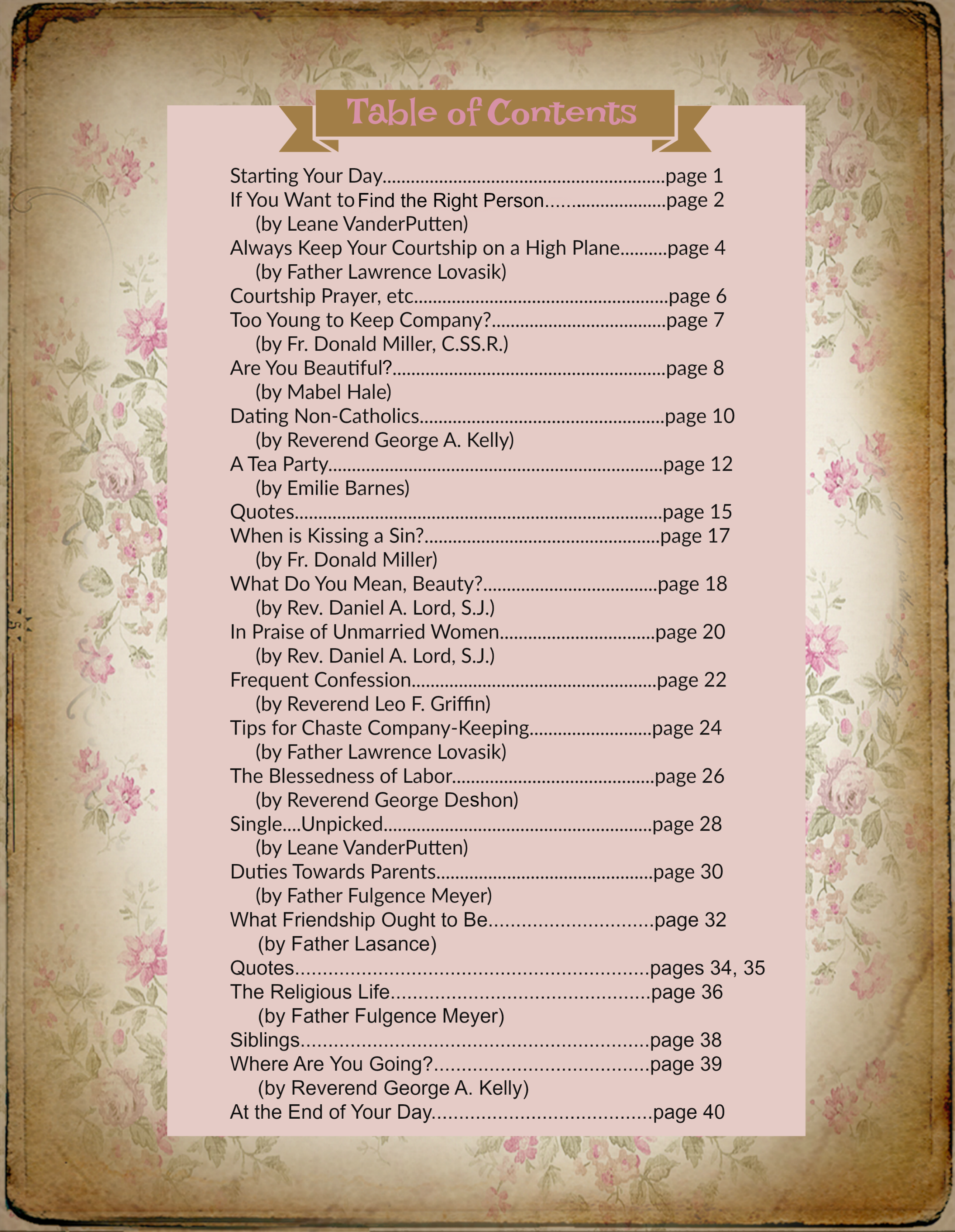 1Table of Contents