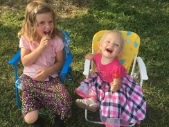 Lollies and Happy children!
