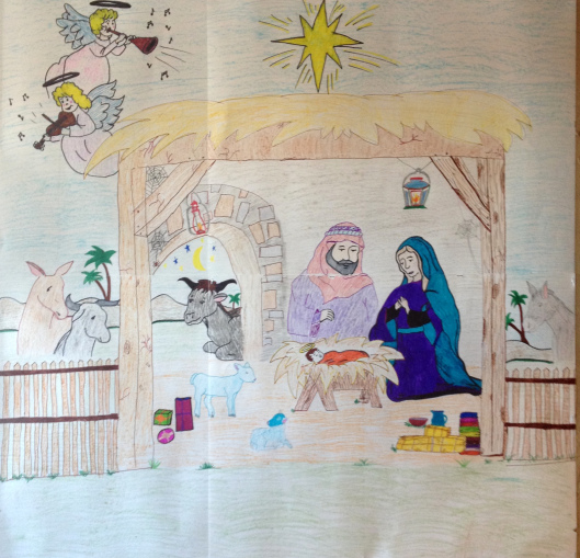 A Spiritual Christmas Crib – New! Printables!