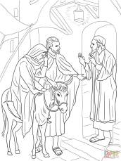 15-no-room-at-the-inn-for-mary-and-joseph-coloring-page