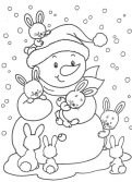 48 Winter Coloring Pages 2026
