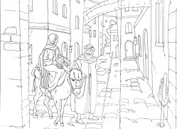 autumn-with-trusty-and-the-nativity-new-mary-and-joseph-travel-to-bethlehem-coloring-pages