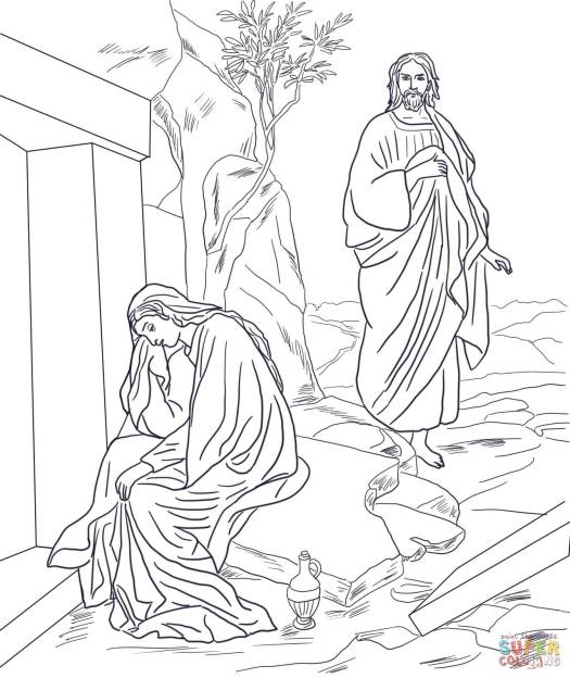3-jesus-appears-to-mary-magdalene-after-resurrection-coloring-page