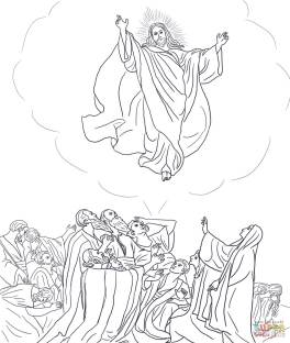 9-jesus-ascends-to-heaven-coloring-page