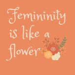 m of g femininity flower