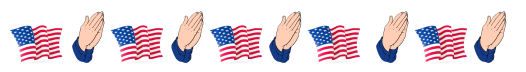 This image has an empty alt attribute; its file name is american-flag-border.png